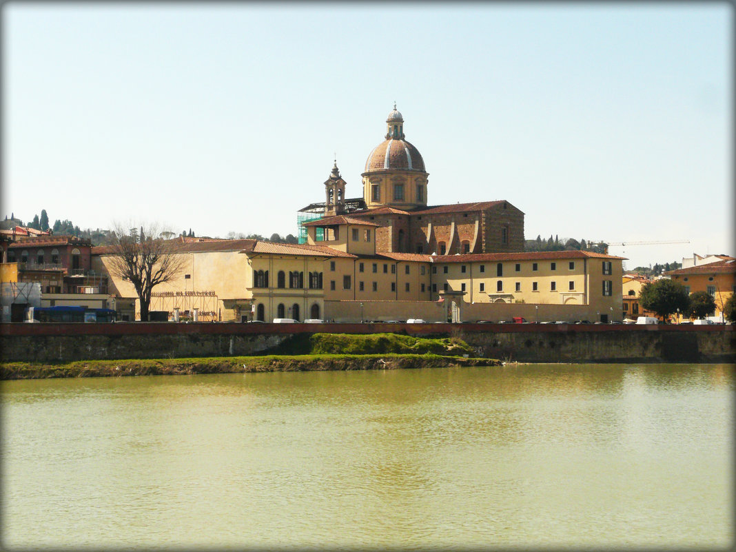 Флоренция.Река Арно - Galina Belugina