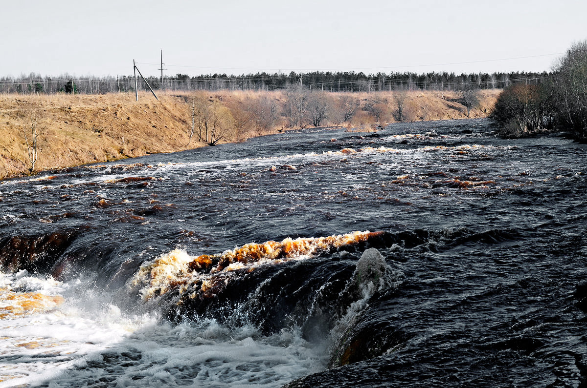Саблинский водопад - Валентина Потулова
