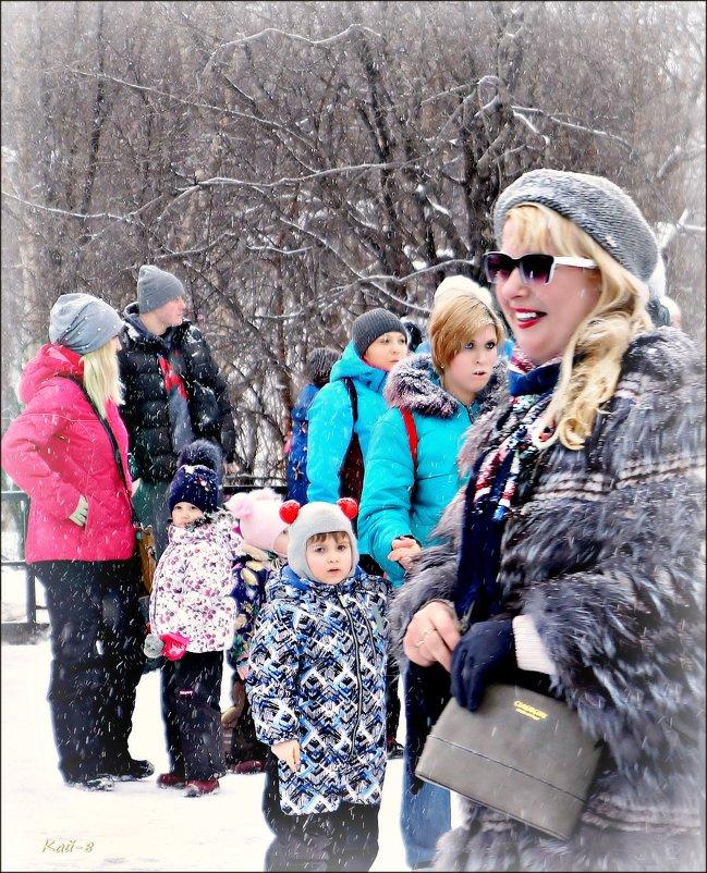 Снегопад и лица... - Кай-8 (Ярослав) Забелин