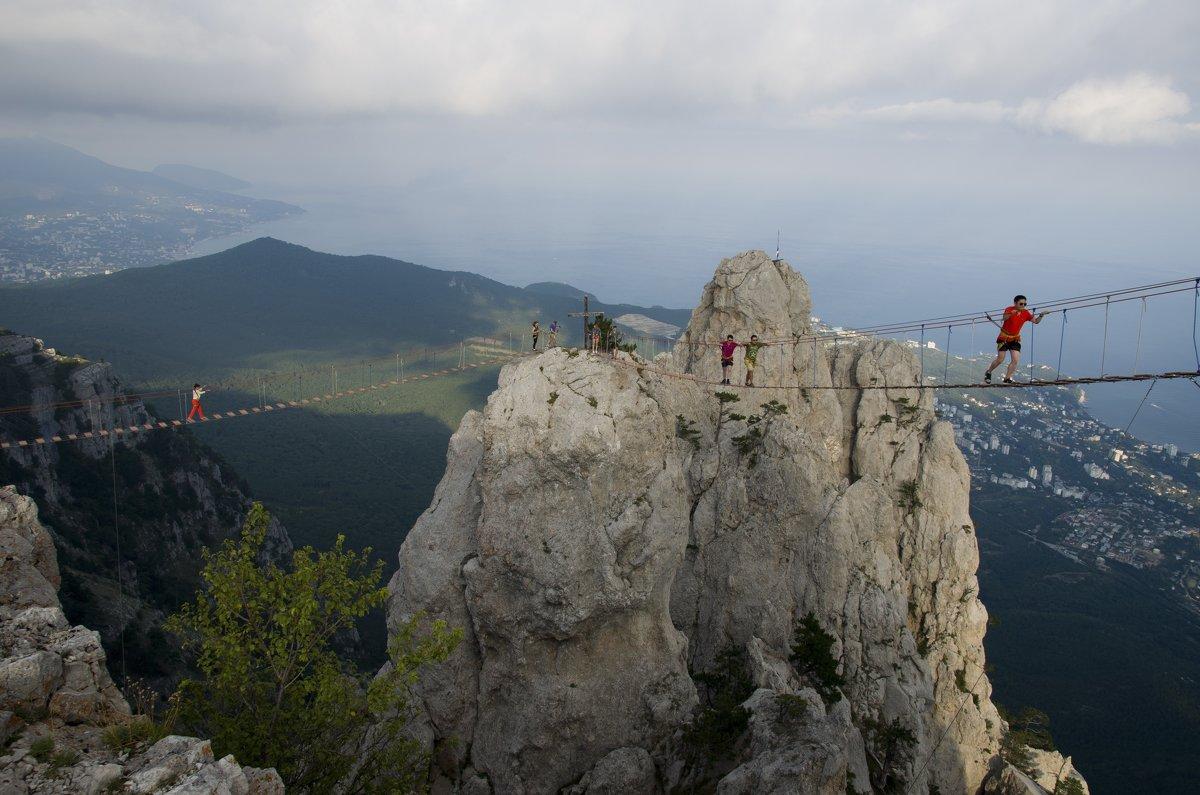 Веревочный мост - Станислав Гераськин
