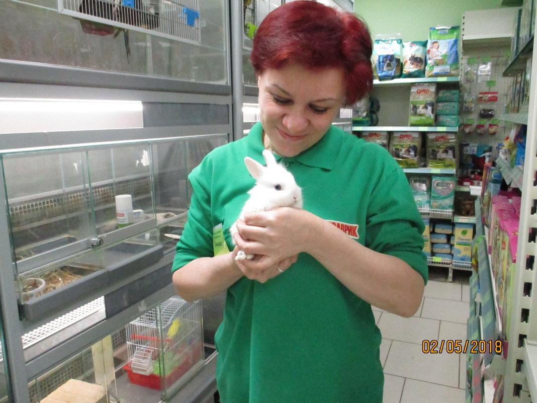 я с кроликом - Зинаида