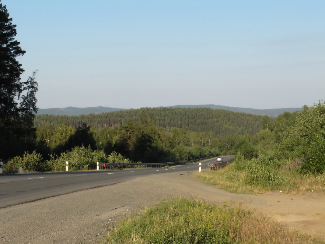 Дорога среди гор - Вера Щукина