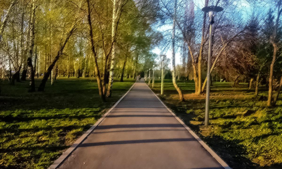 В парке - Георгий Морозов