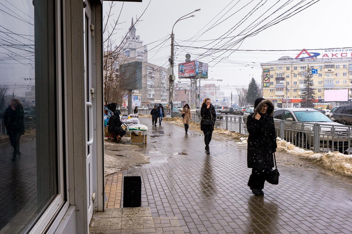 На Кольцовской улице. Конец марта - София