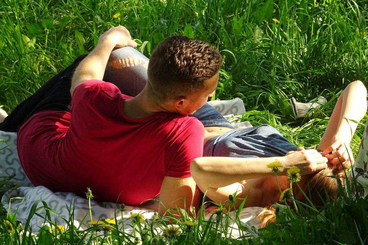 Отдых на траве - Ирина Via