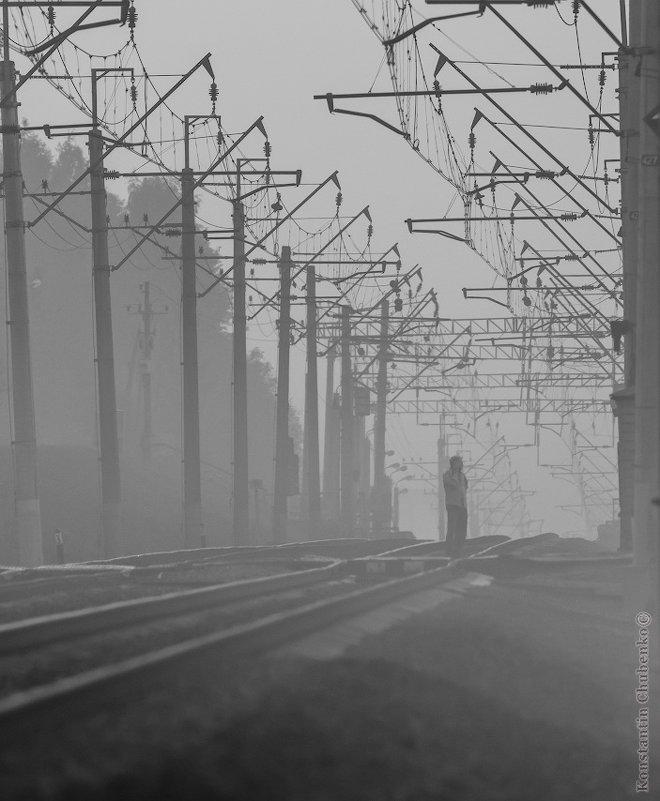 Одинокий железнодорожник - KotoPalych Gf