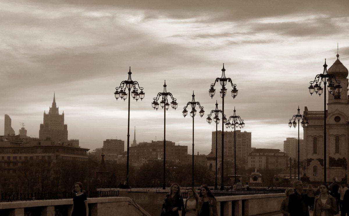 Вечерний пейзаж . - Alexey YakovLev