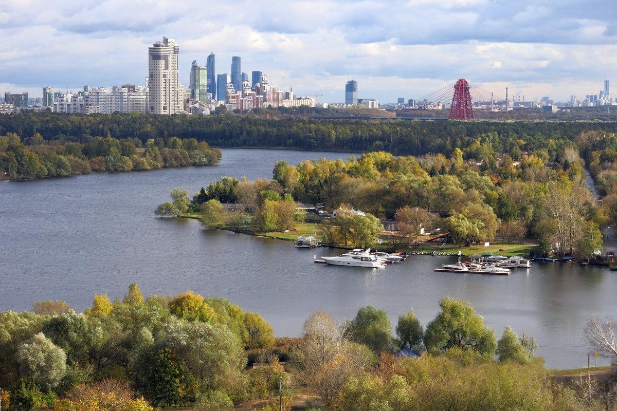Строгинская пойма, Москва - NSS