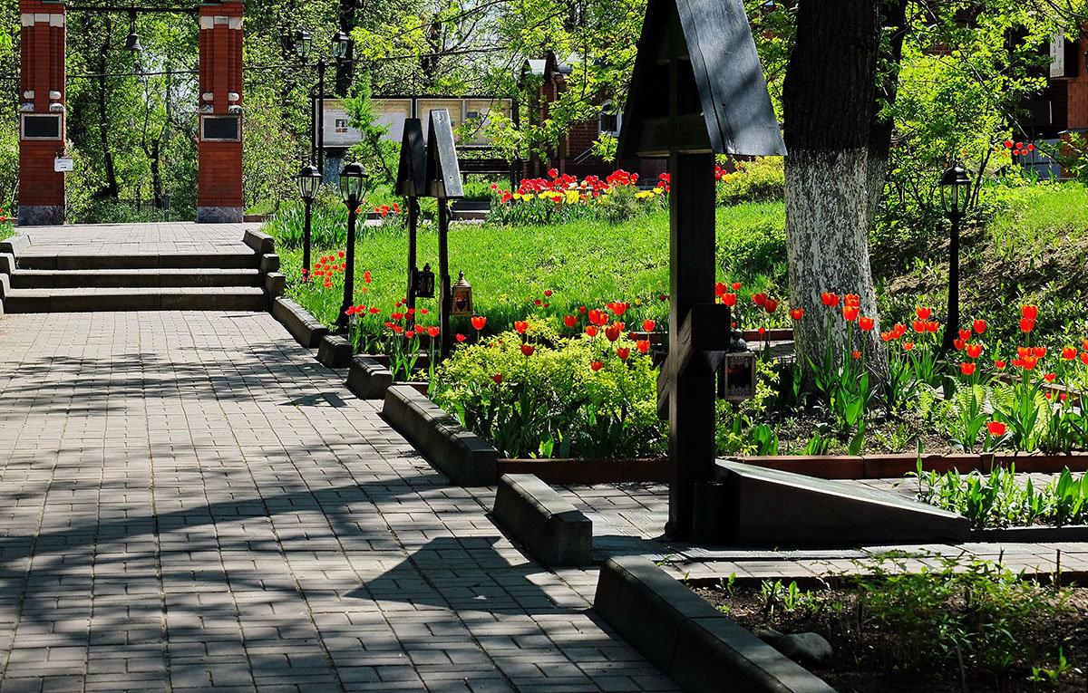 Весна в монастыре. - Геннадий Александрович