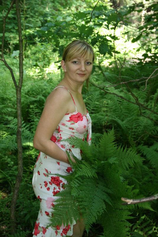 в лесу - Димончик