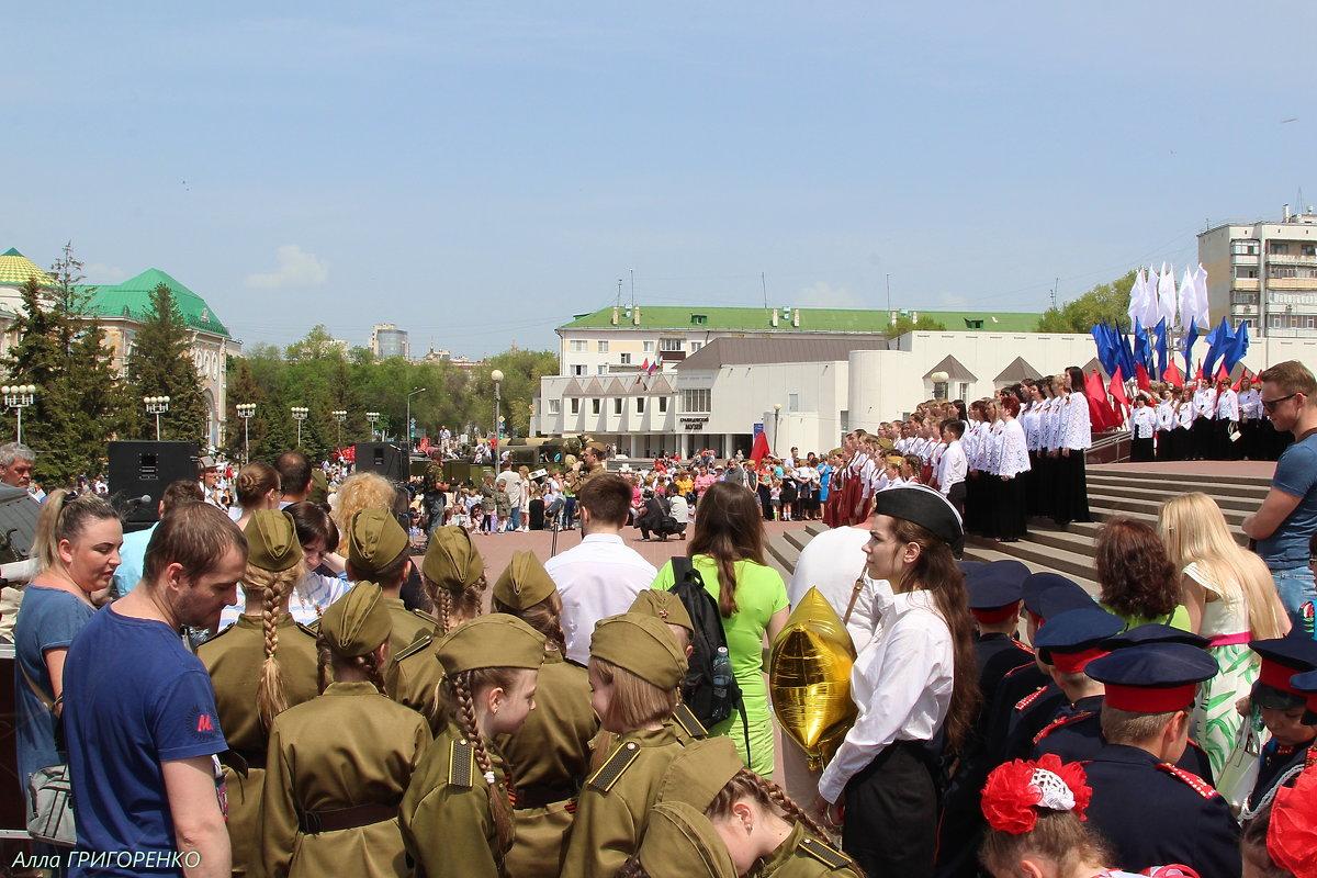 Бессмертный полк. Белгород. 9 мая, 2018 (17) - Алла Григоренко