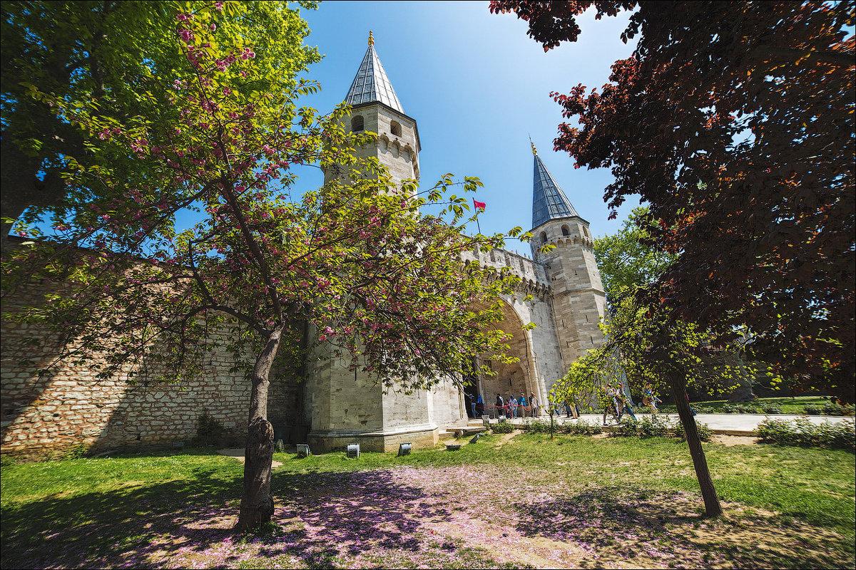 Ворота дворца Топкапы в Стамбуле - Ирина Лепнёва