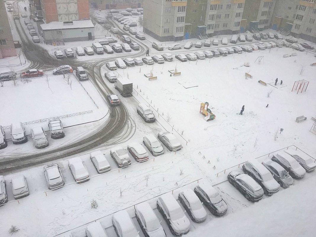 Зима не хочет уходить... - Алла ZALLA