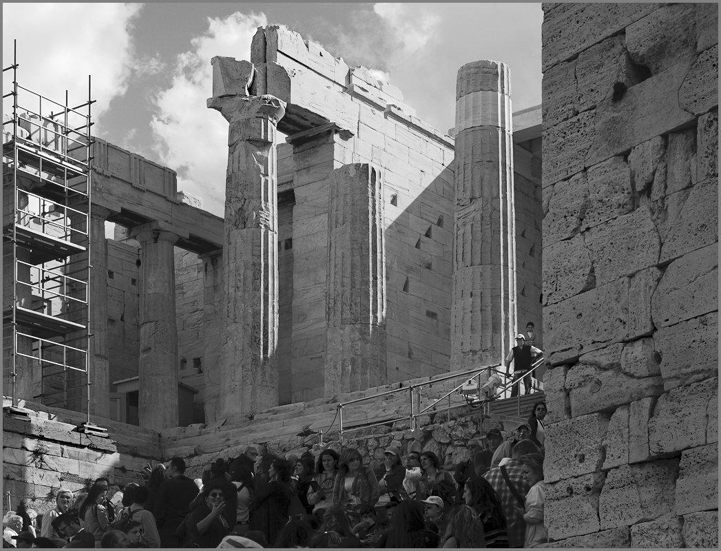 Вход в афинский Акрополь – Пропилеи - Lmark