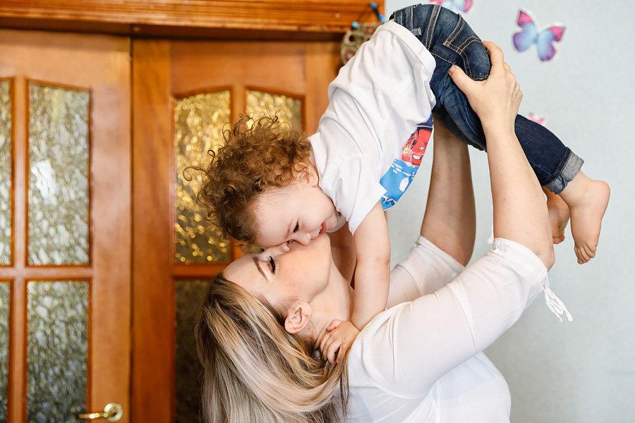 Мама и сыночек, любовь и радость. - Галина Шляховая