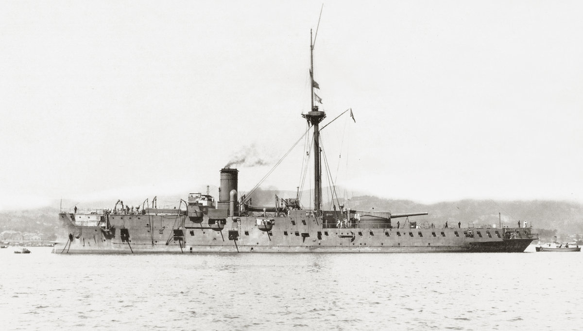 """японский бронепалубный крейсер """"Matsushima"""". - Александр"""