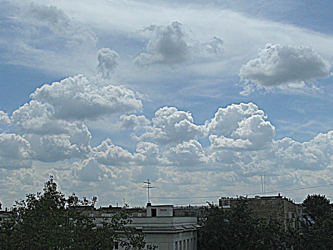 Облачный парад. - Владимир Драгунский