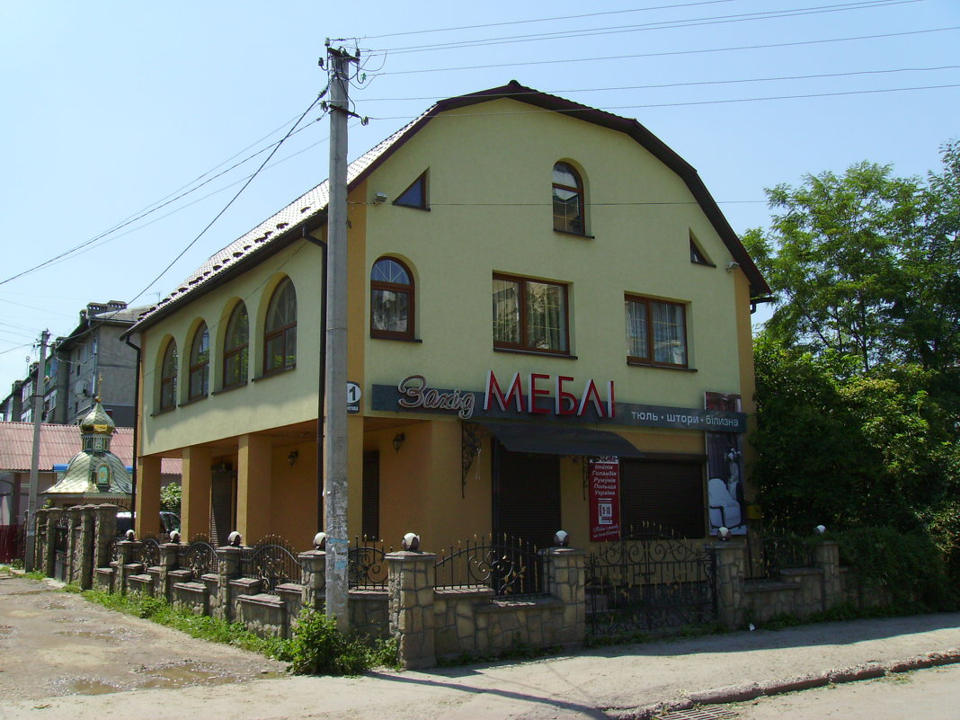 Офисное  здание  в   Ивано - Франковске - Андрей  Васильевич Коляскин