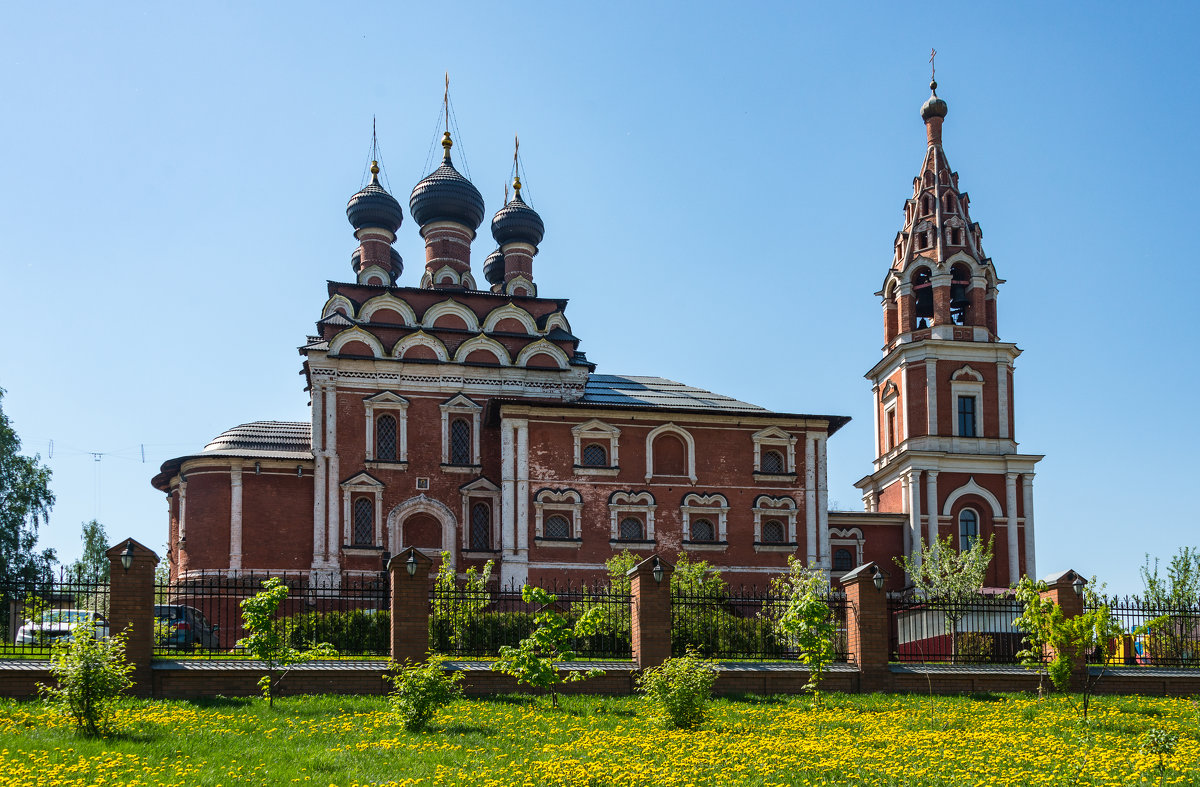 Казанская церковь в Котельниках - Владимир Брагилевский