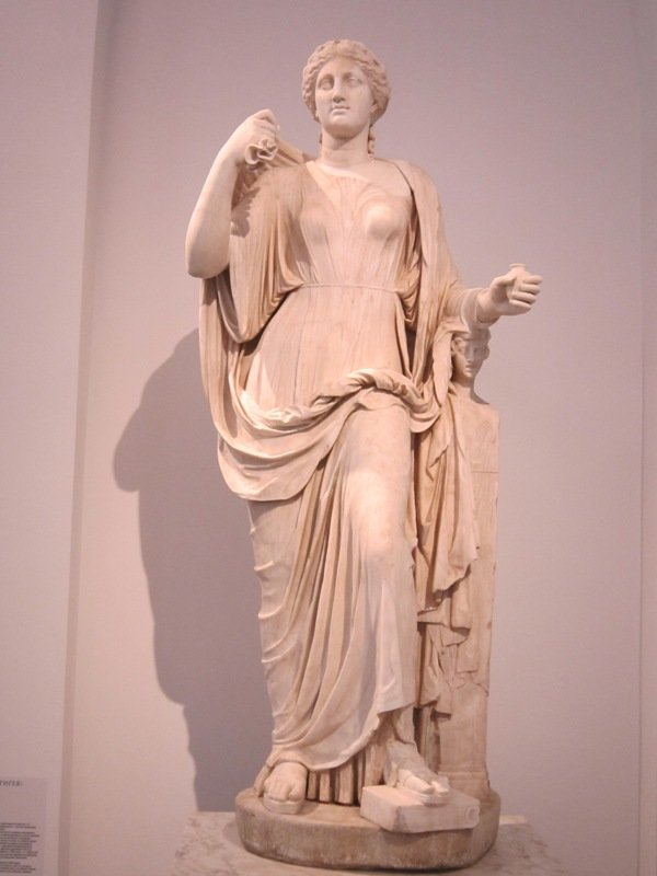 Царицыно. Богиня исцеления Гигея - Дмитрий Никитин