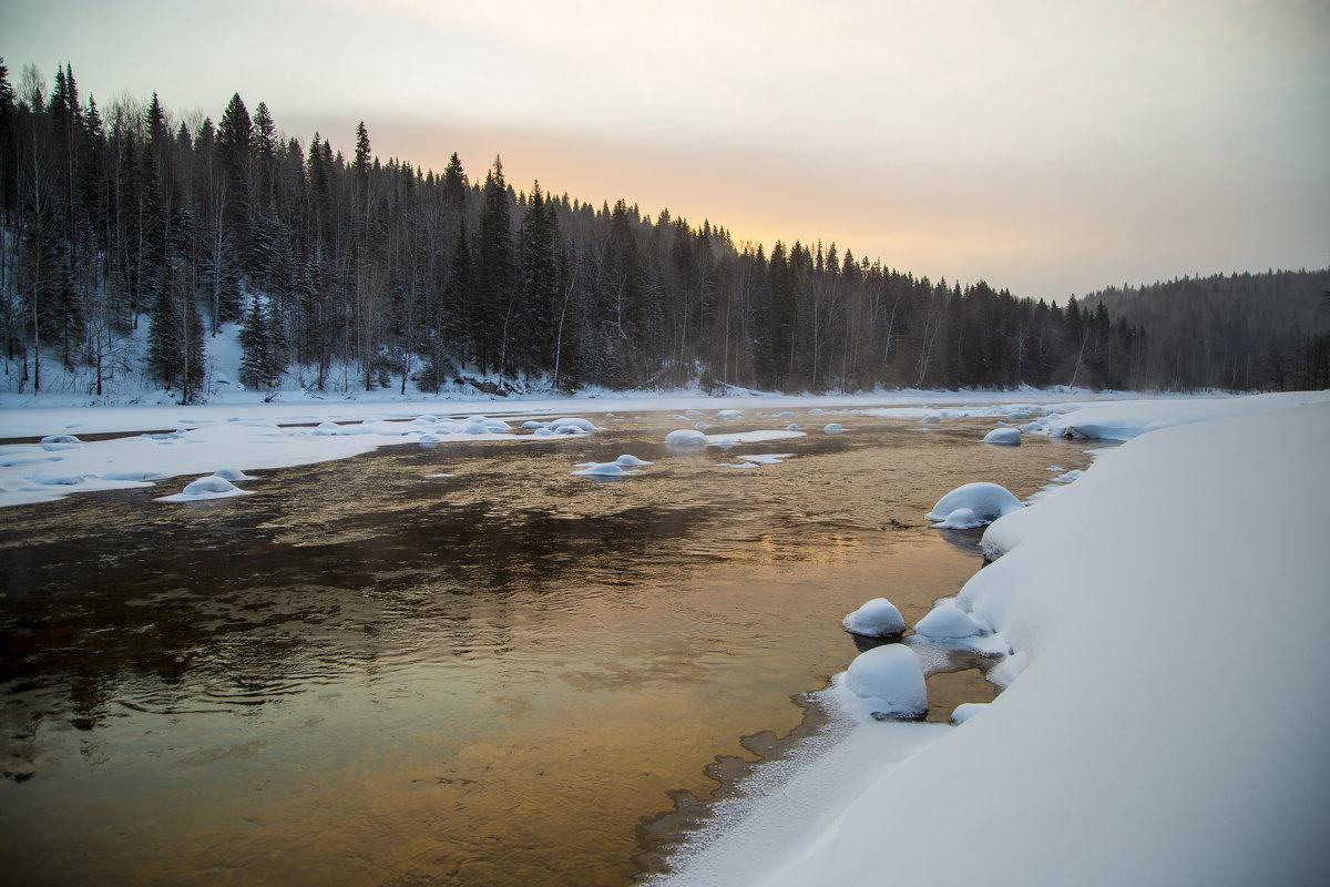 Река  Усьва - Александр Паклин