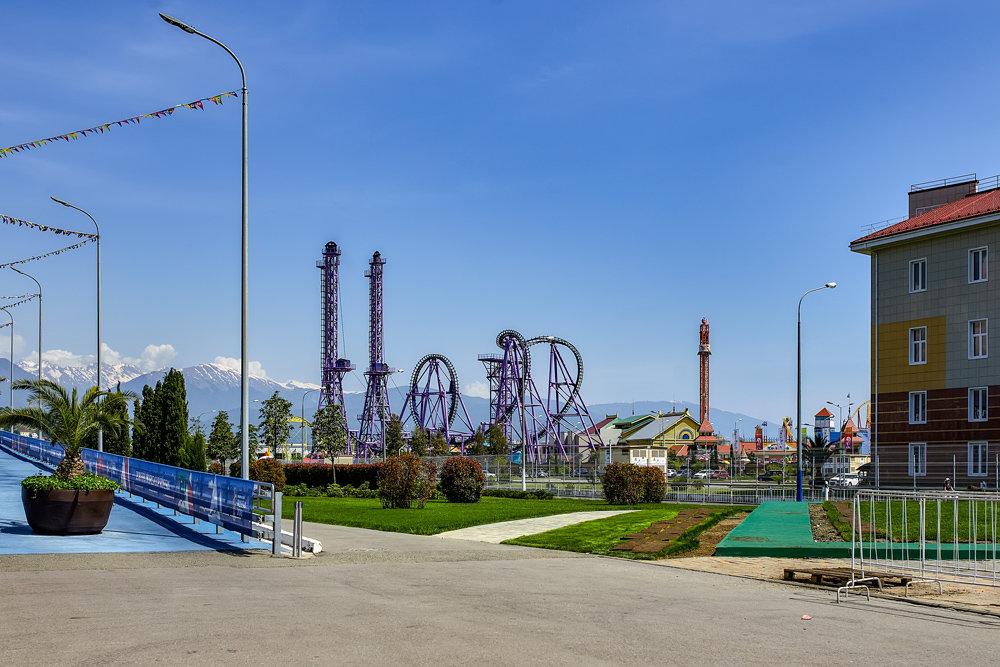 Сочи. Олимпийский парк - Николай Николенко