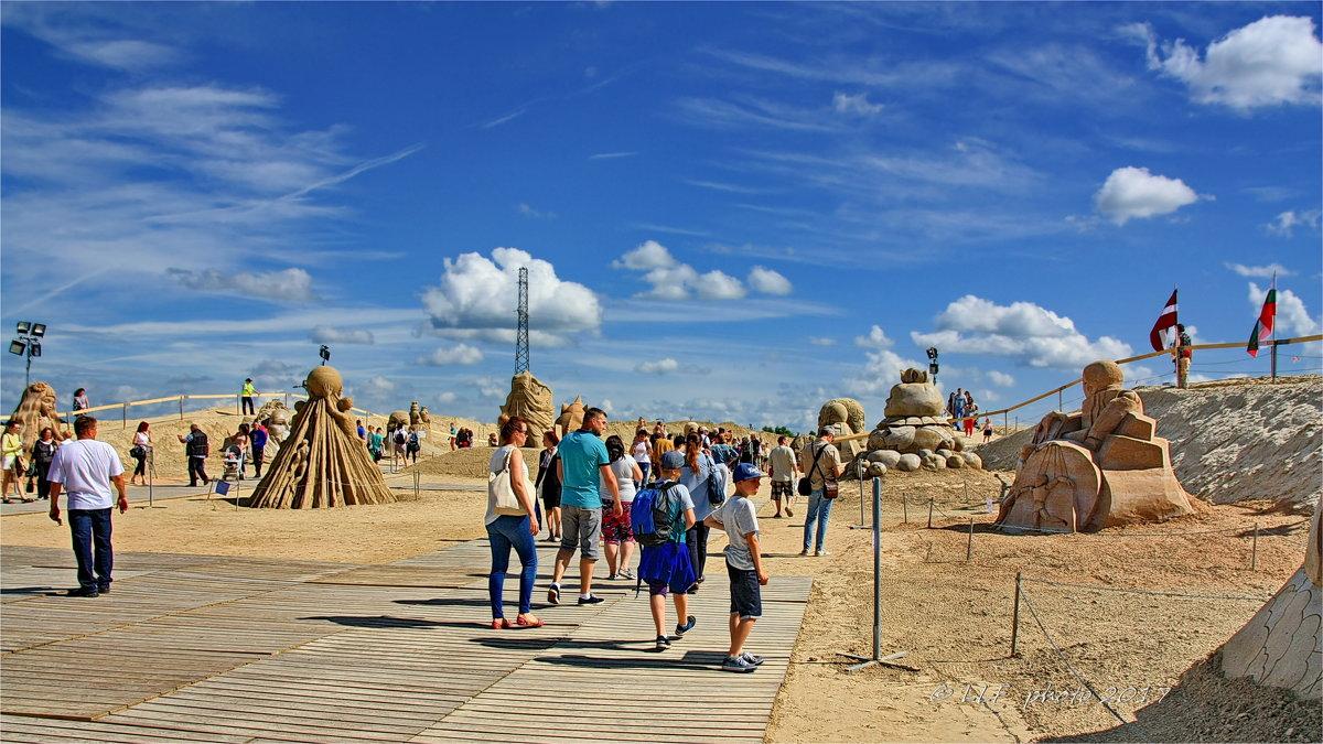 XI Международный фестиваль песчаных скульптур - Liudmila LLF