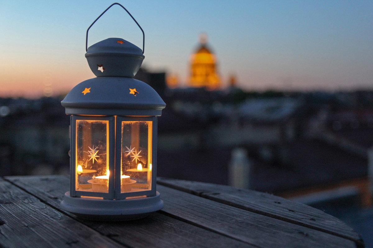Ночные крыши Питера - skijumper Иванов