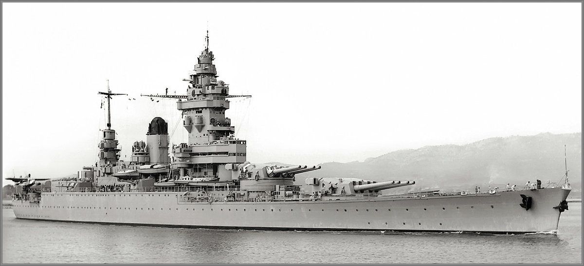 "French battlecruiser-fast battleship ""Strasbourg"". - Александр"