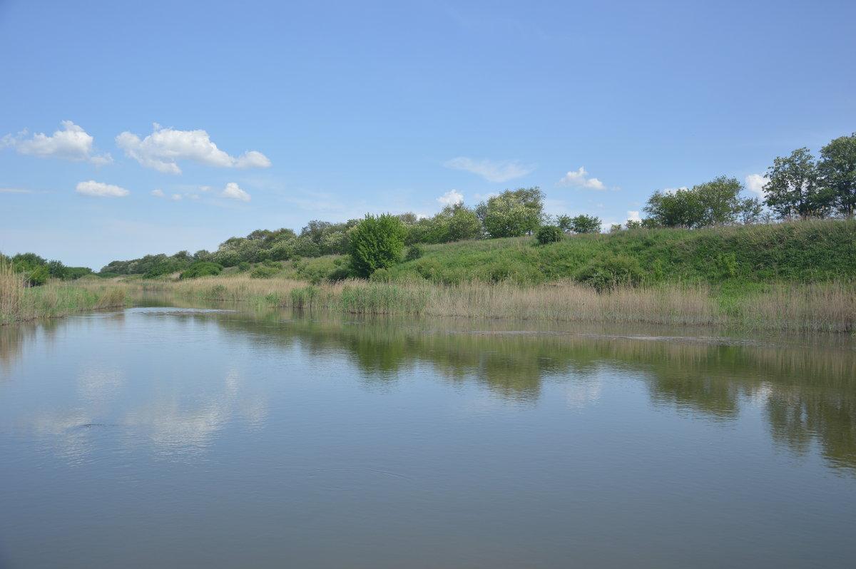 река Сал. - Виктор