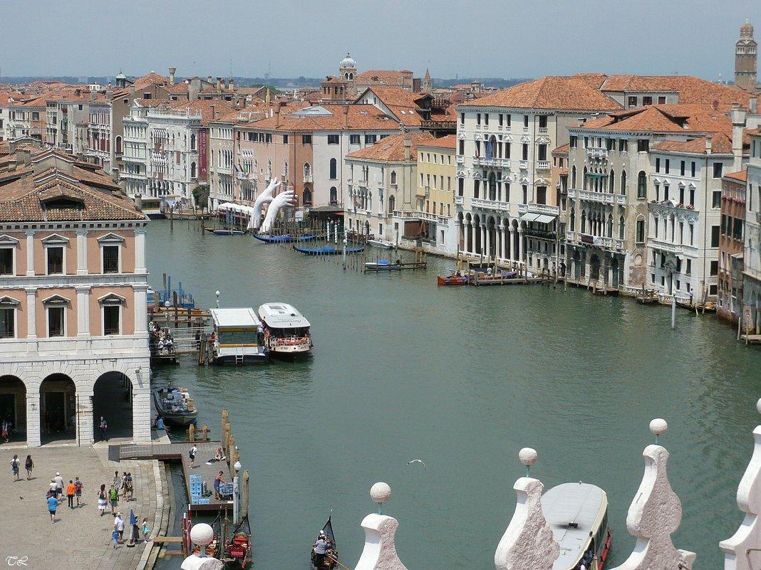Гранд-канал Венеции со смотровой площадки - Татьяна Ларионова