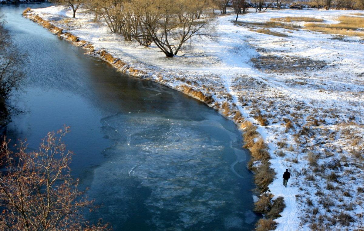река Киржач ноябрь - Любовь