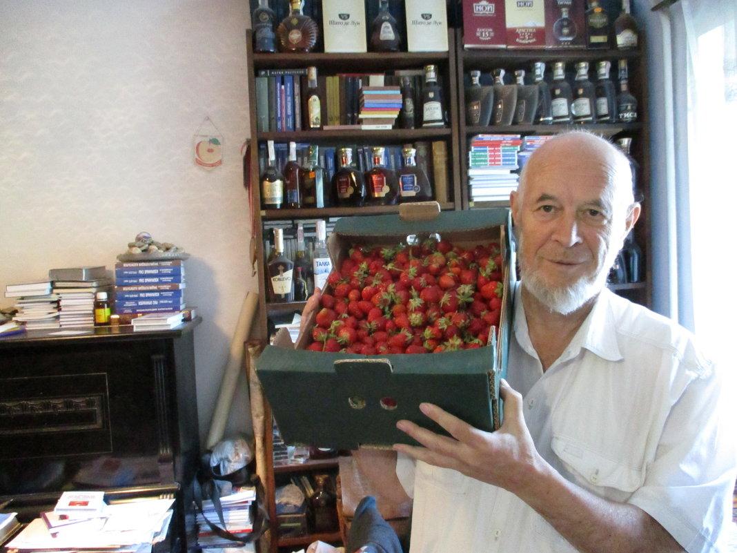 Клубничная ноша поэта-философа  Михаила Арошенко - Алекс Аро Аро