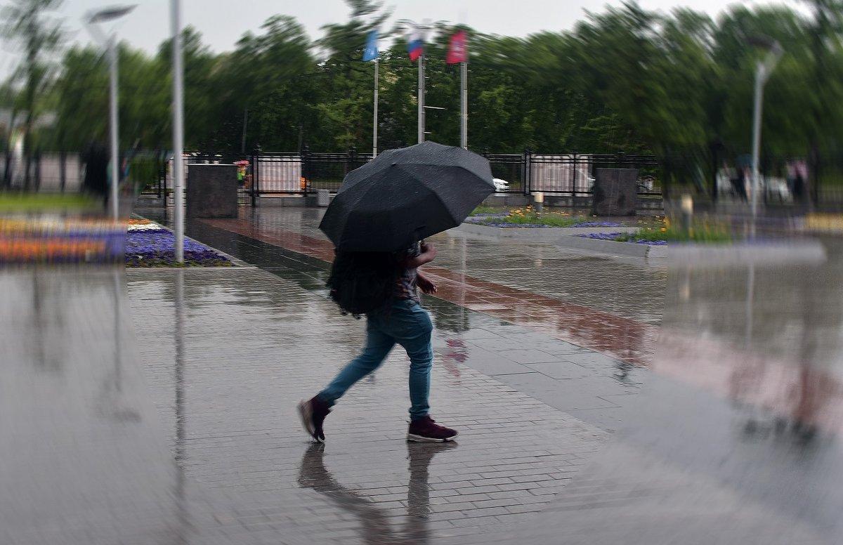 Под дождем - dindin