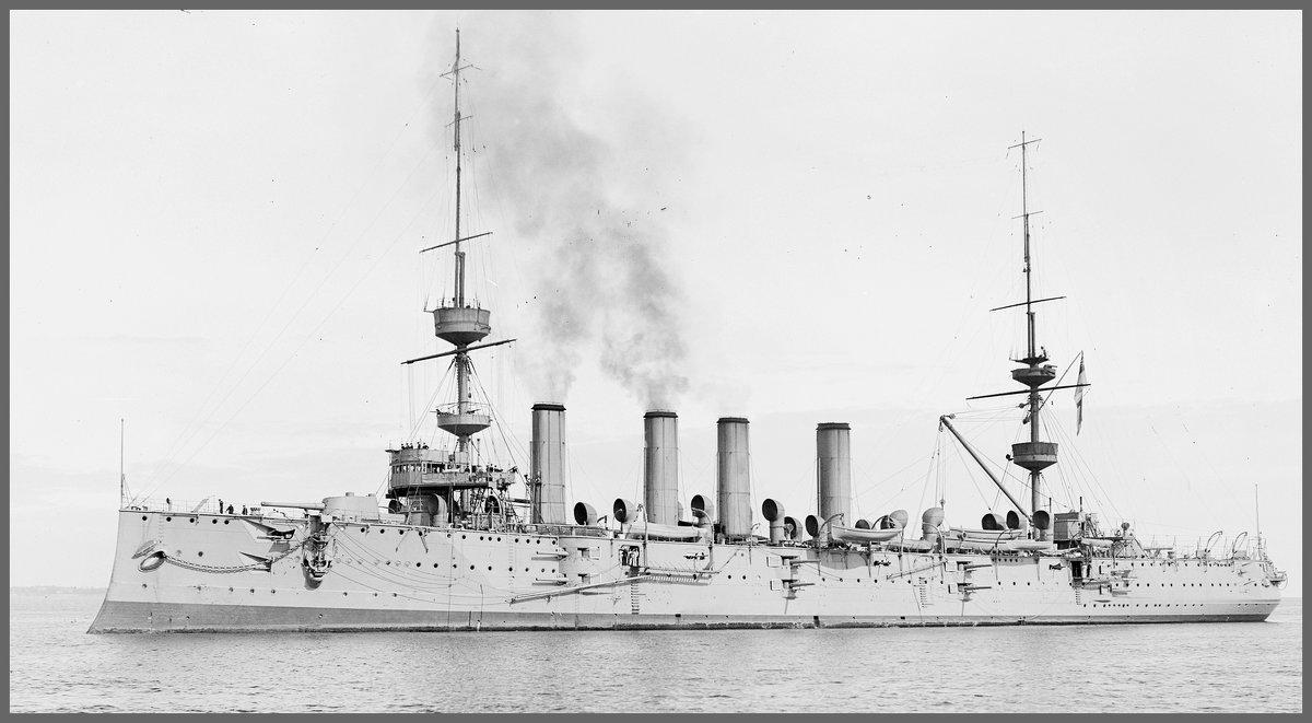 """английский бронепалубный крейсер """"HMS Powerful"""". - Александр"""