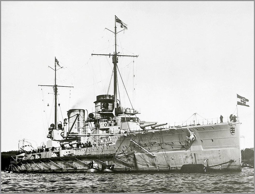"German battlecruiser ""SMS Seydlitz"" circa 1913. - Александр"