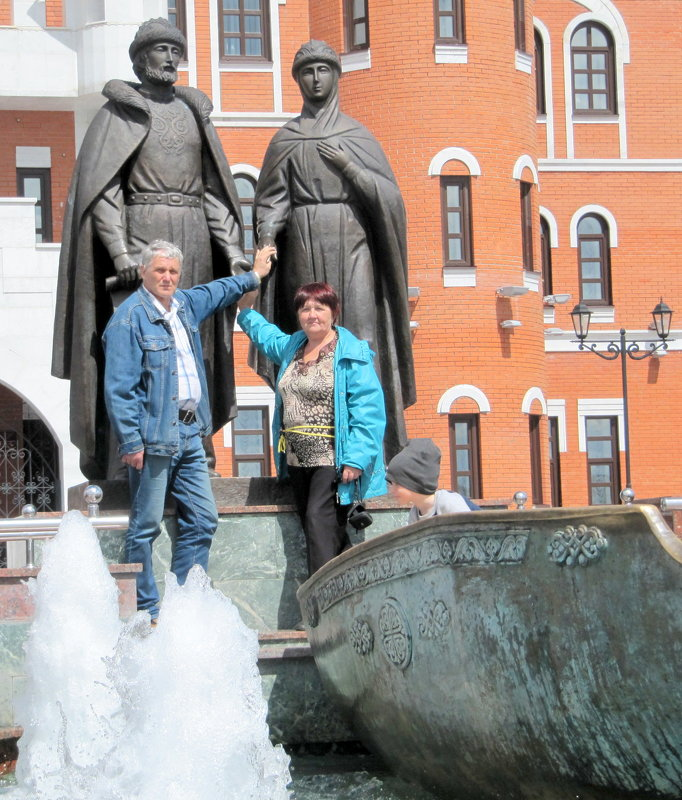 Святые Пётр и Феврония в Йошкар-Оле - Антонина Балабанова