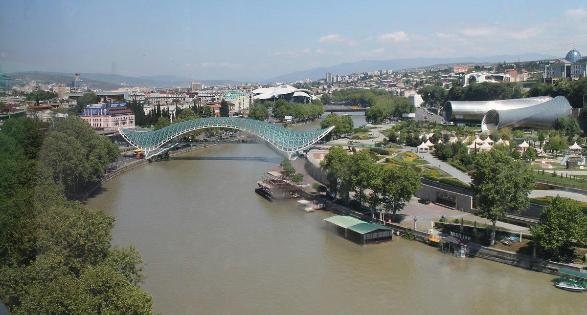 Мост Мира в городе Тбилиси! - Светлана Масленникова