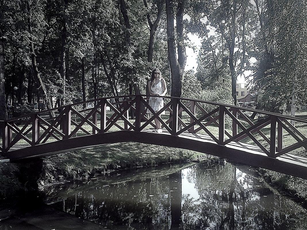 на мосту - Юлия Денискина