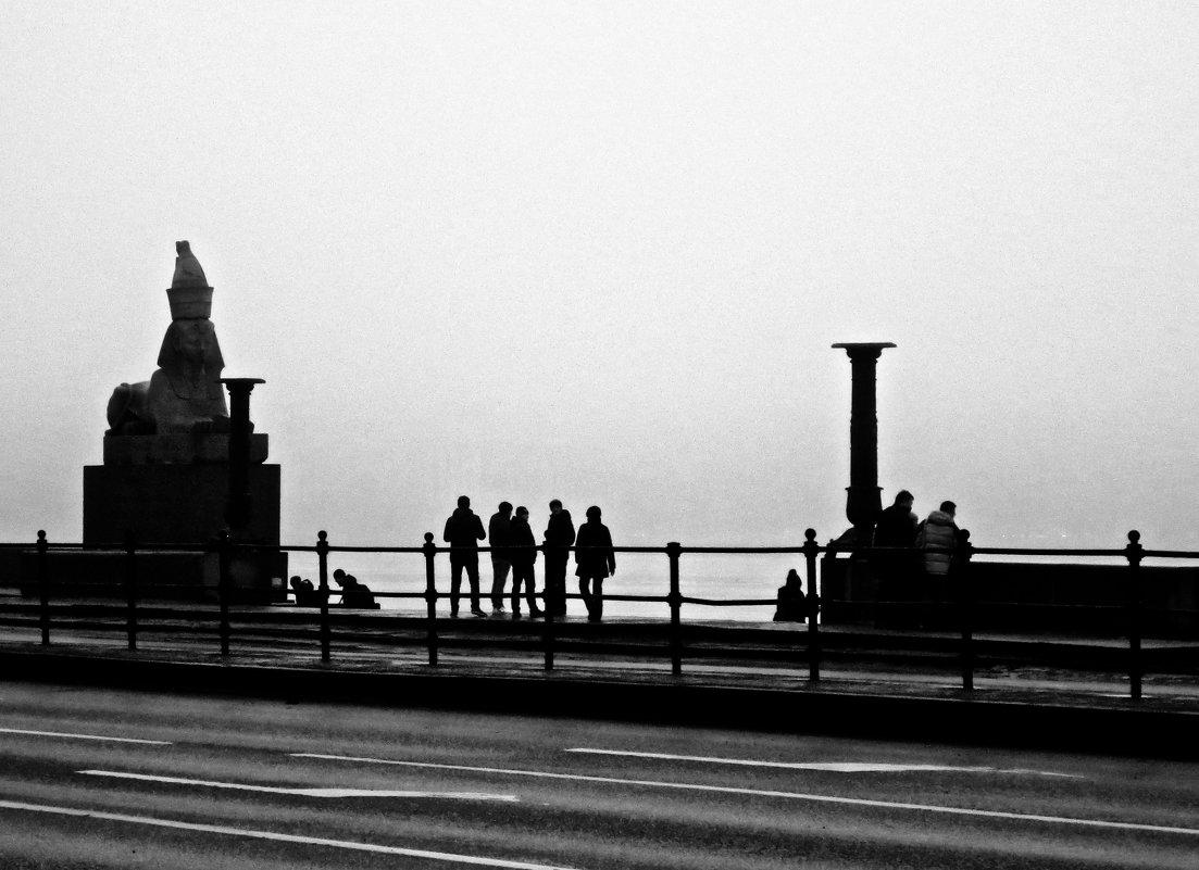 туман на набережной - Елена