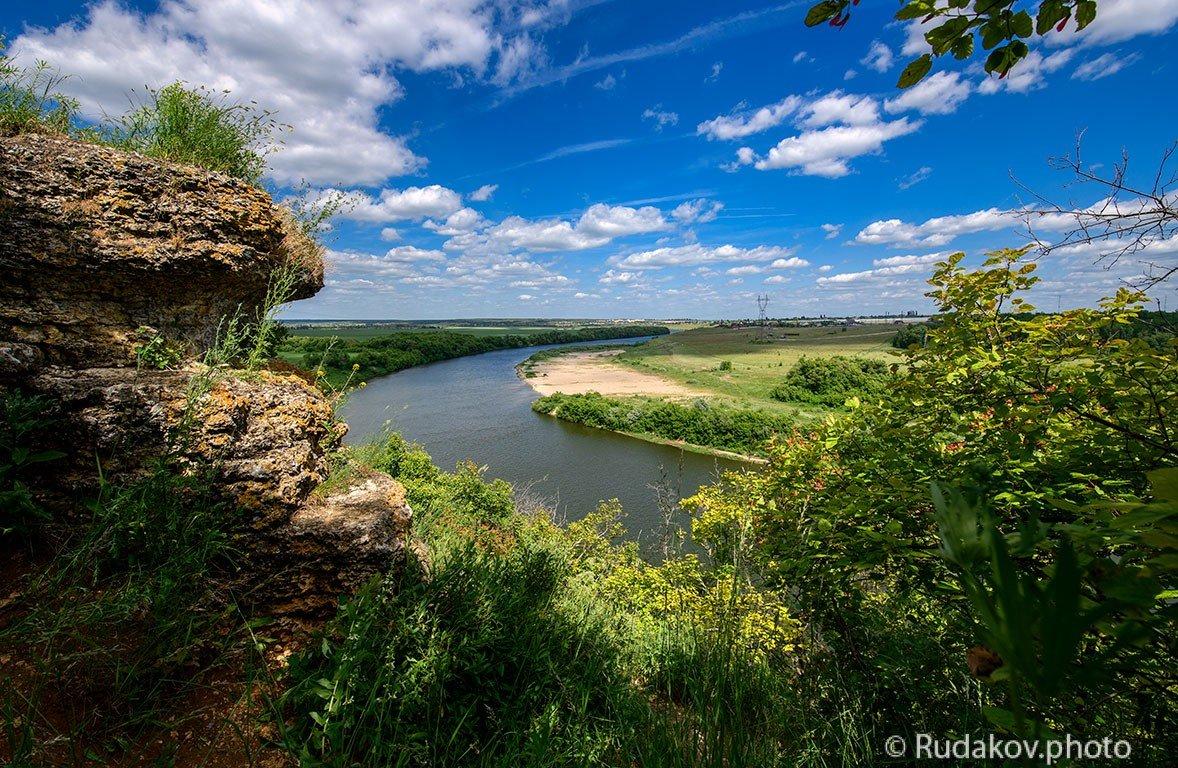Вид на Дон с Галичьей горы - Сергей