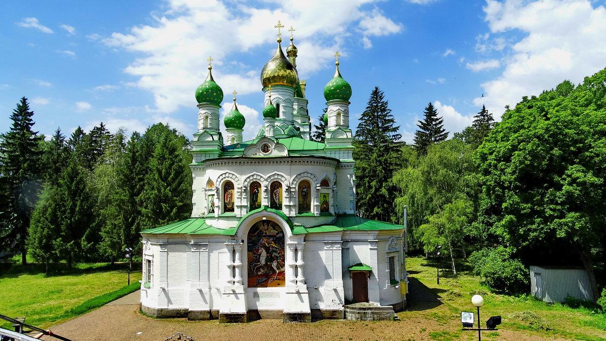 *Церковь на поле Полтавской битвы. - vodonos241