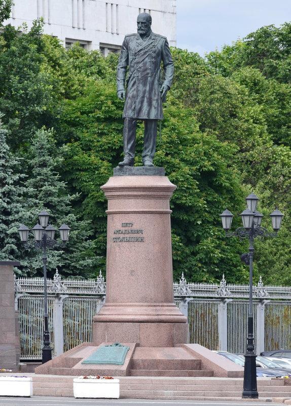 Москва...  Памятник Петру Столыпину. - Galina Leskova
