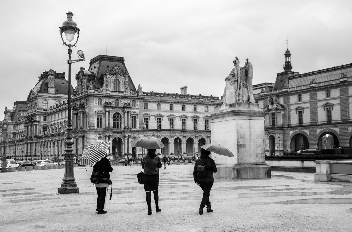 Париж,дождь - Наталия