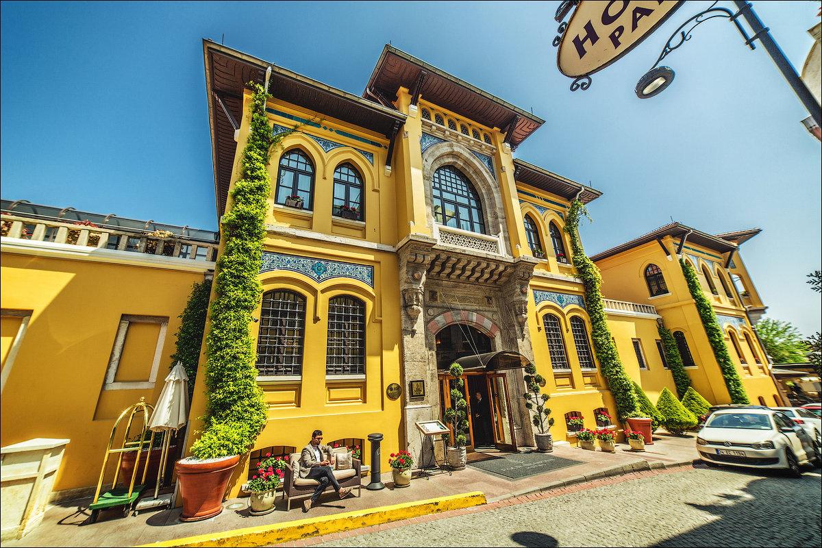 Отель Four Seasons в Стамбуле - Ирина Лепнёва