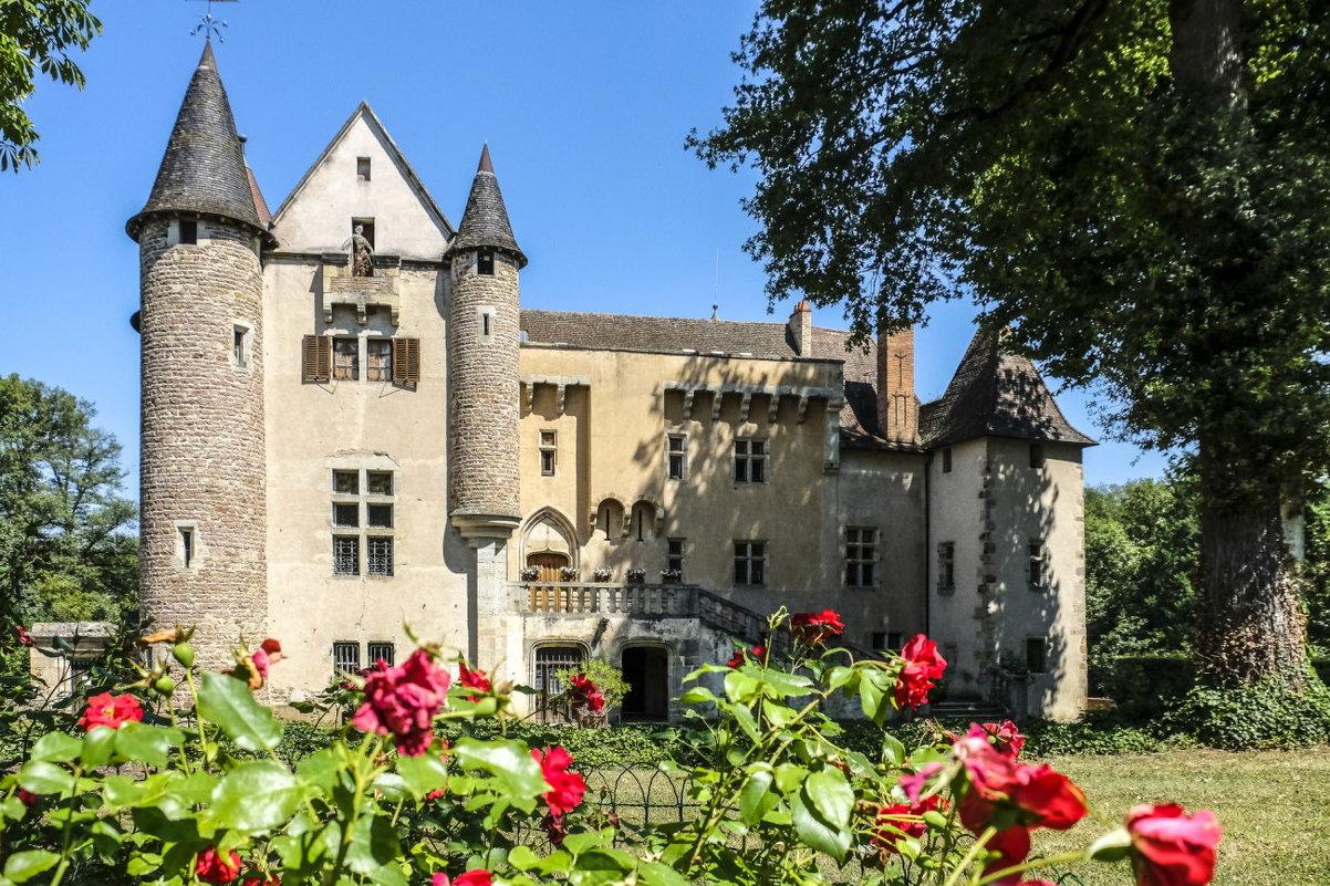Замок Ла Шассaйнь (La Chassaigne), г. Тьер (Thiers)