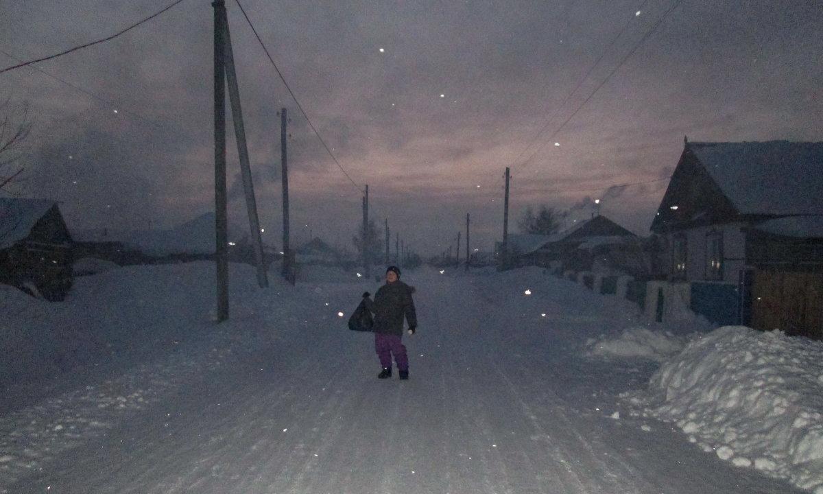 Зимним вечером в селе - Светлана Рябова-Шатунова