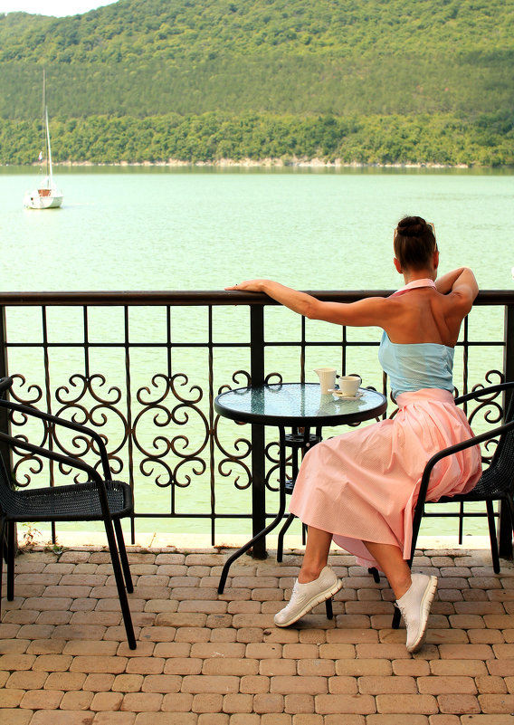 Озеро Абрау - Наталья Агрикова