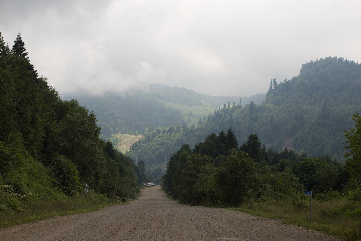 дорога к плато Лаго-Наки - Григорий