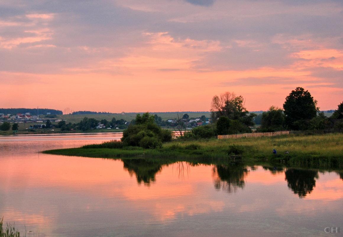 Кольчугино. Закат близ Литвиново - Сергей Никитин